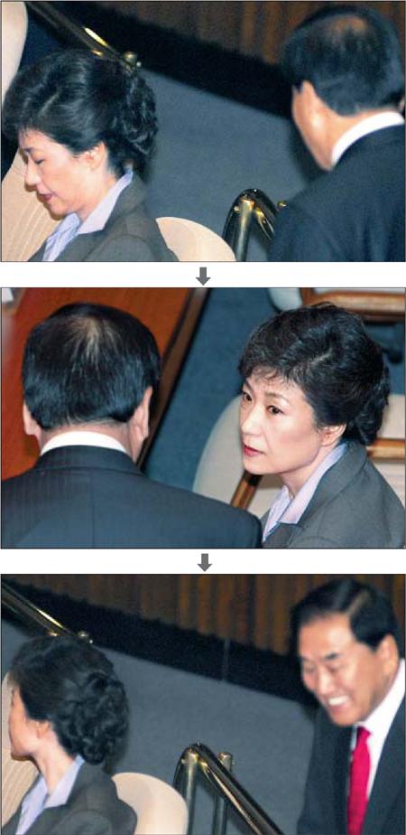 박근혜와 이재오