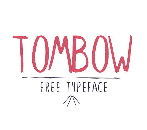 Tombow – Free Brush Font