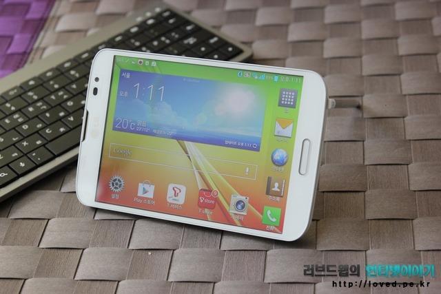 LG 뷰3 러버듐 펜 거치대 활용하기