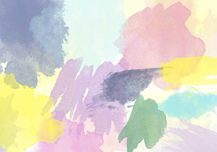 38 가지 무료 포토샵 수채화 브러쉬 - 38 Free Watercolor Brushes