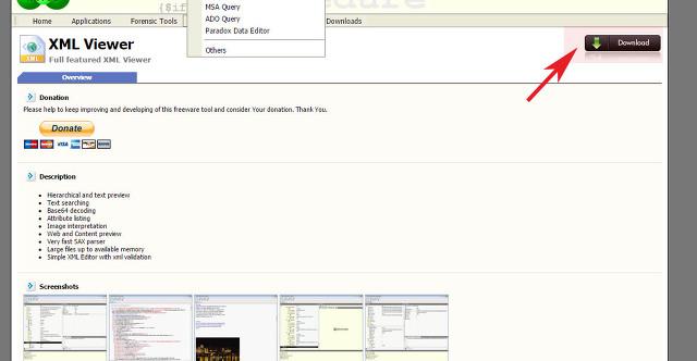 xml 파일 뷰어 프로그램 MiTeC 최신버전 이용방법