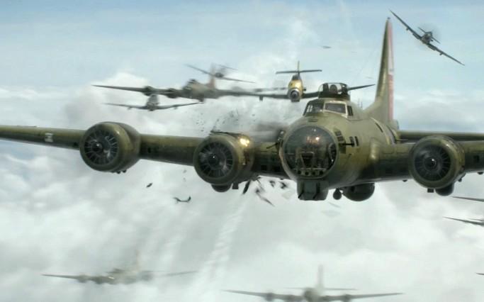 [2차 세계대전 공중전] 날으는 요새 미국 'B-17 폭격기'