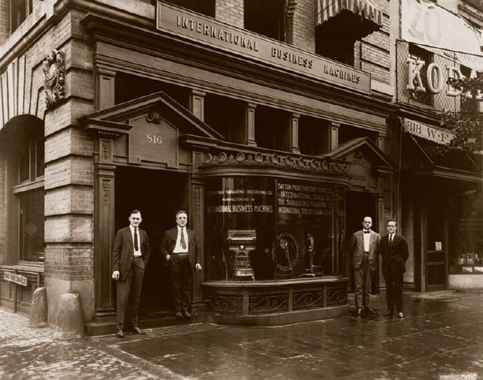 ibm founded store history 1924 IBM역사