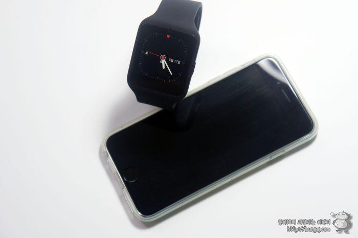 소니, 스마트워치3, 아이폰, 아이폰6