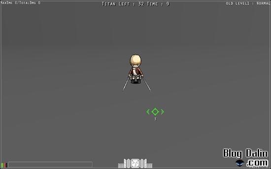 진격의 거인 플래시 게임 플레이 화면_07