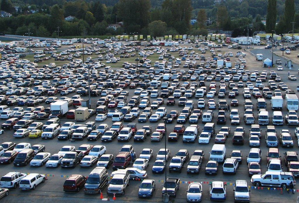 How To Find Car In Crowded Parking Lot