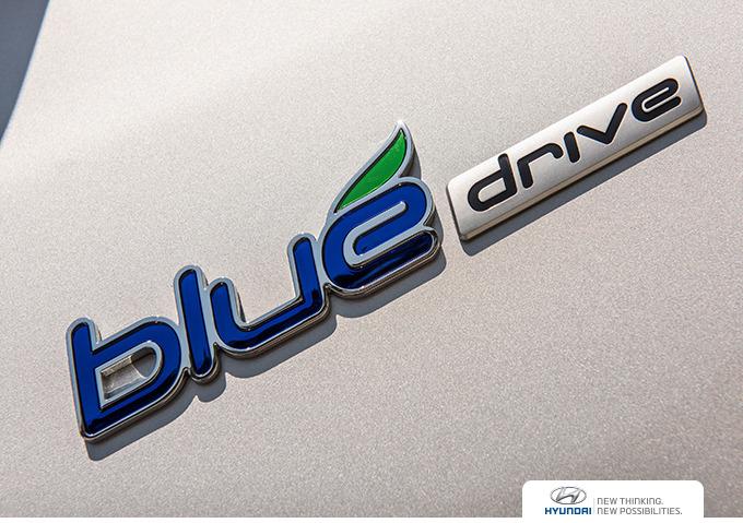 현대자동차 블루드라이브 슬로건