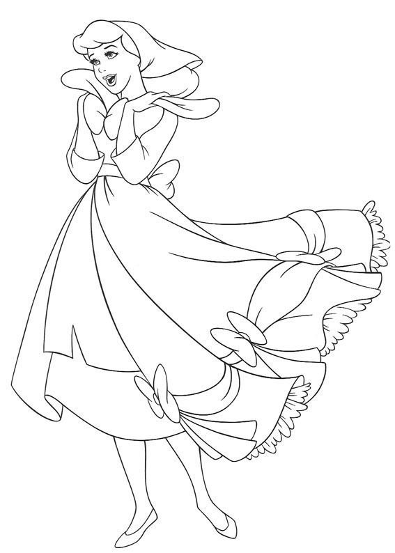 Paper craft coloring pages origami - Dessin anime cendrillon 2 ...
