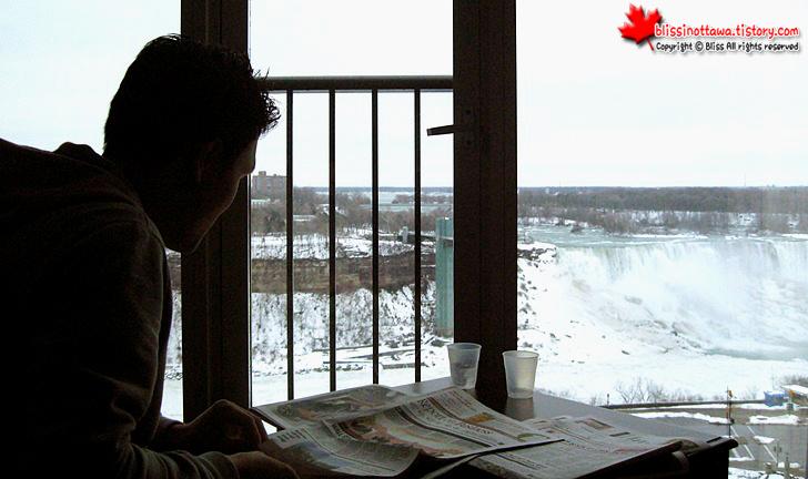 캐나다 동부여행 나아이가라 폭포 쉐라톤 호텔 객실