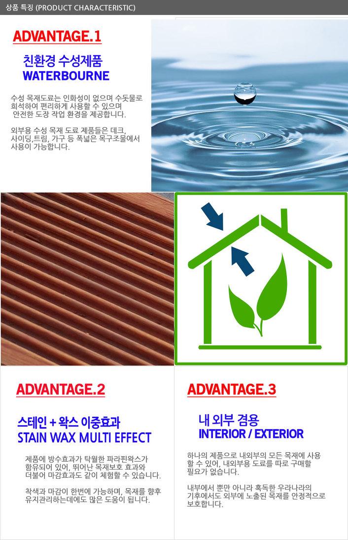 셔윈 윌리암스 왁스 이펙트 우드스테인 제품설명 03