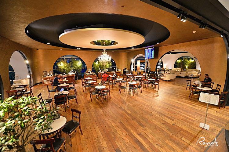 터키공항 터키항공 CIP 라운지 지하 카페
