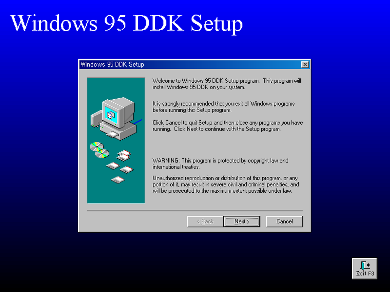 Windows 95 device driver kit for Windows 95 iso