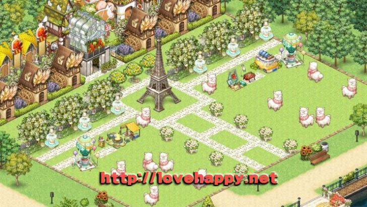 양들이 자유로이 노니는 푸른 초원 마을의 마켓타운 아이러브 파스타 인테리어 by 은빈 001