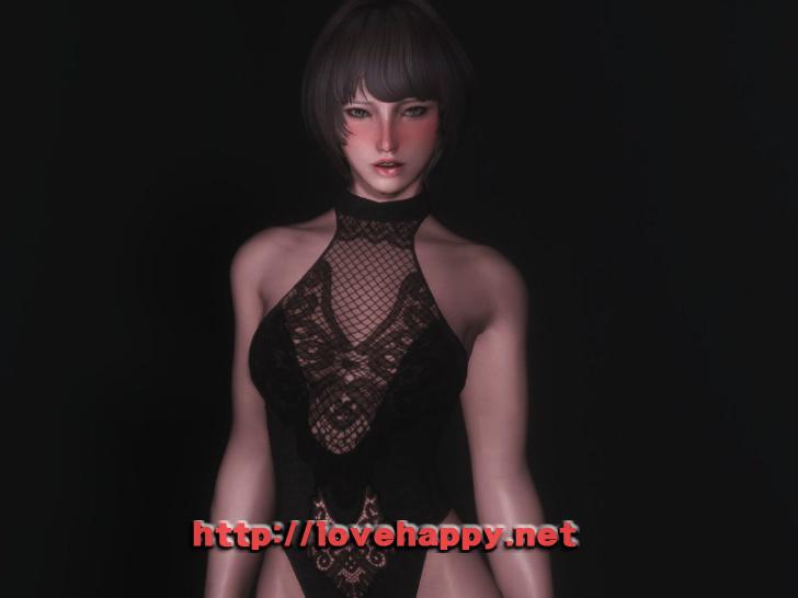 스카이림 의상 - 코르셋 의상 luxurious seduction 001