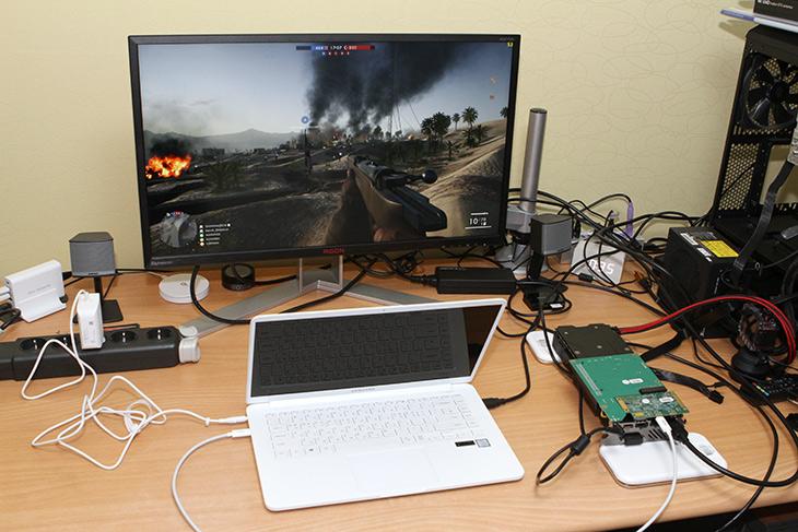 삼성, 노트북9 ,Always, 썬더볼트3 ,그래픽카드 연결, 게임, 성능, 올리기,IT,IT 제품리뷰,평상시에는 가볍게 휴대를 합니다. 집에 오면 게이밍 노트북을 만들 수 있는데요. 삼성 노트북9 Always 썬더볼트3 그래픽카드 연결 하여 게임 성능 올리기를 해보려고 합니다. 이 방법을 알고는 있으니 직접 해본 사람은 많지는 않더군요. 삼성 노트북9 Always 썬더볼트3는 40Gb/s 대역폭으로 그래픽카드나 저장장치를 연결하여 다양하게 활용이 가능 한데요. 물론 썬더볼트3 단자를 이용하여 노트북 자체를 충전하는 것도 가능 합니다.