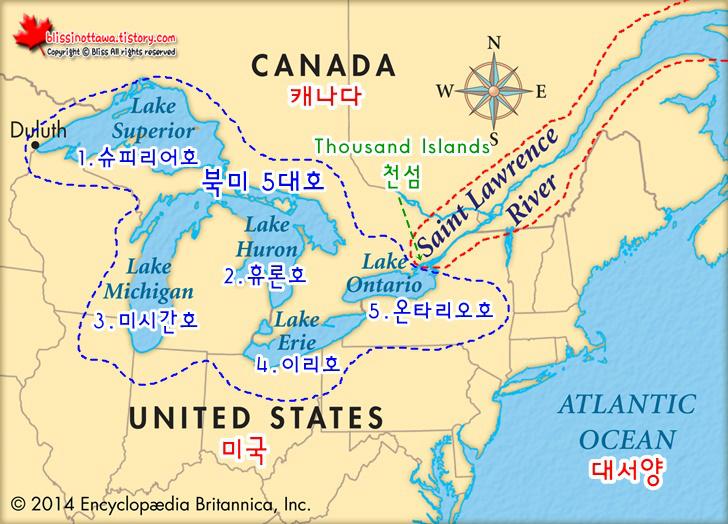 미국vs.캐나다 천섬 유람선 비교와 백만장자의 여름 휴양지를 보는 이색재미