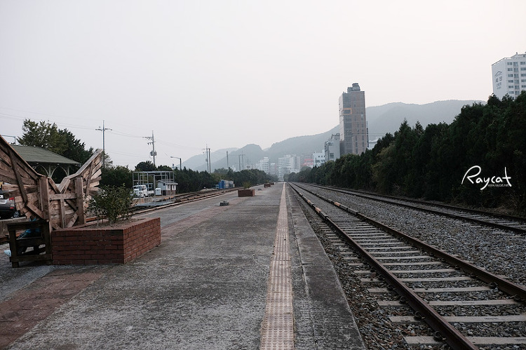 송정역 철길
