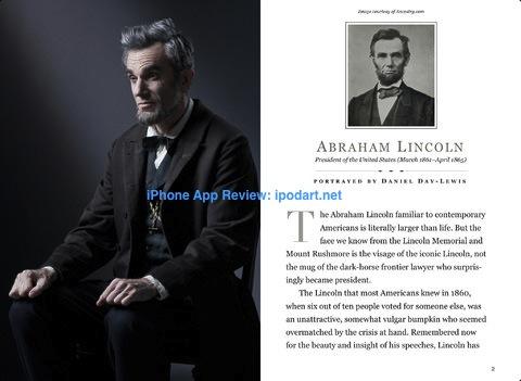 Lincoln 아이폰 아이패드 영화 링컨