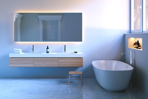 우아한 욕실 인테리어 HD 사진 03