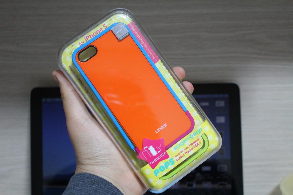 아이폰5 범퍼케이스 SGP 리니어팝스