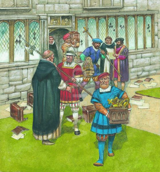 헨리8세의 수도원 해산