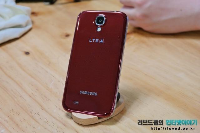 SKT 갤럭시S4 LTE-A, 갤럭시S4 LTE-A, LTE-A, SKT LTE-A, LTE-A 속도, 갤럭시S4 레드
