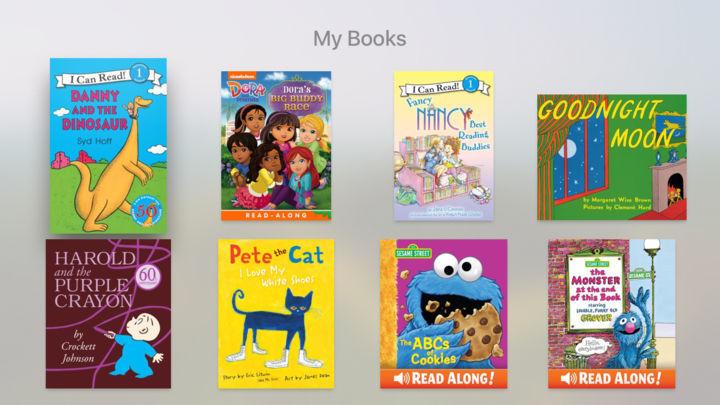 [BP/IT] 동화책 읽어주는 애플 TV - iBooks Story time
