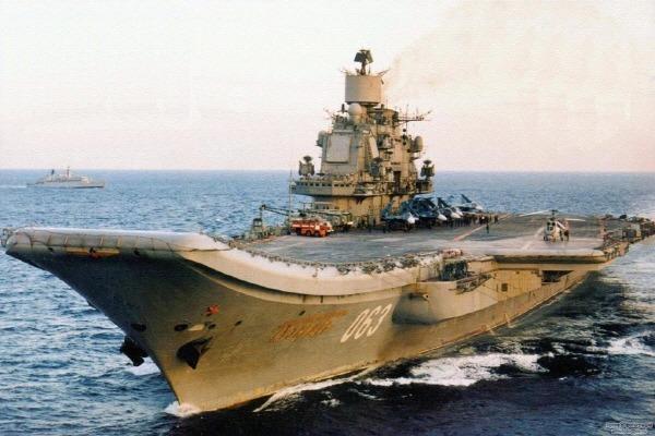 쿠즈네초프 항공모함 Адмирал Кузнецов