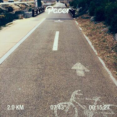 매일 달리기 (3/20 - 2km)