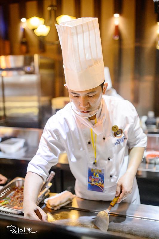 마카오 음식축제 요리사