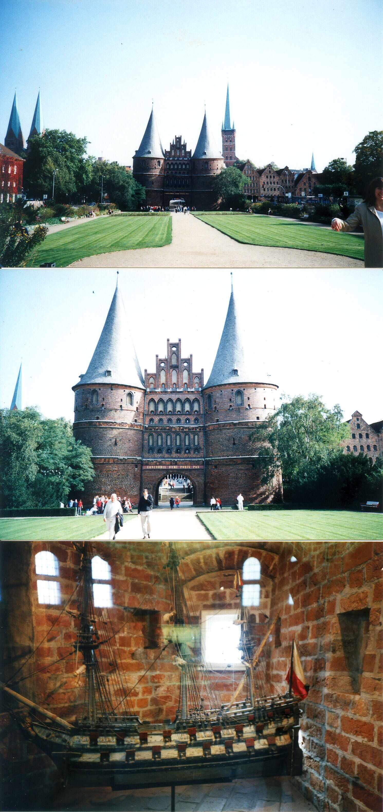 2001년 독일 뤼벡 성