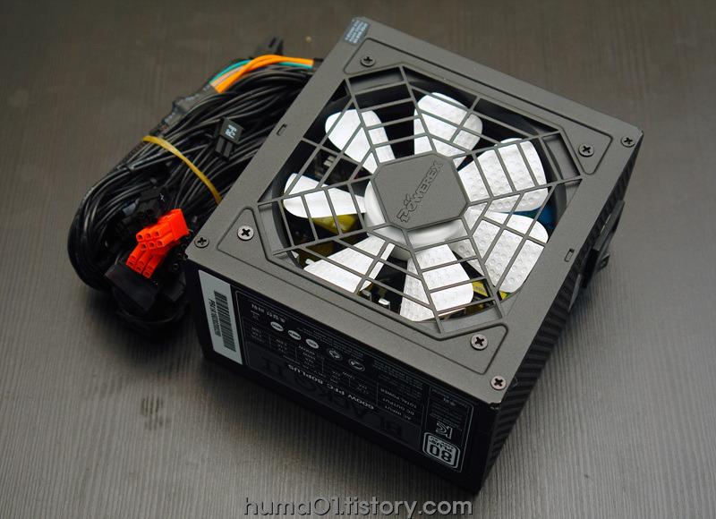 국내산파워공룡~ 블랙Q II 600W 파워서플라이
