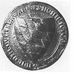 Heinrich의 방패에 쓰인 문장