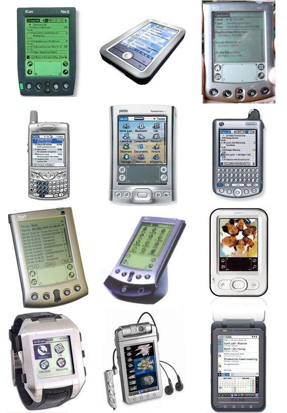다양한 Palm OS PDA