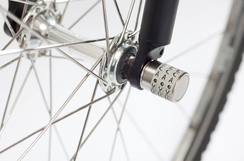 *자전거 잠금장치 sphyke C3N anti-theft combination lock for bike components