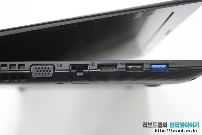 풀사이즈 D-sub, LAN, HDMI, USB2.0, USB3.0
