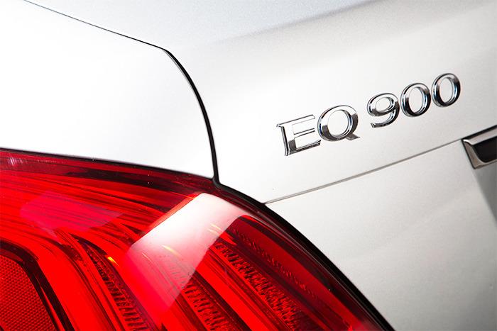 EQ900 엠블램