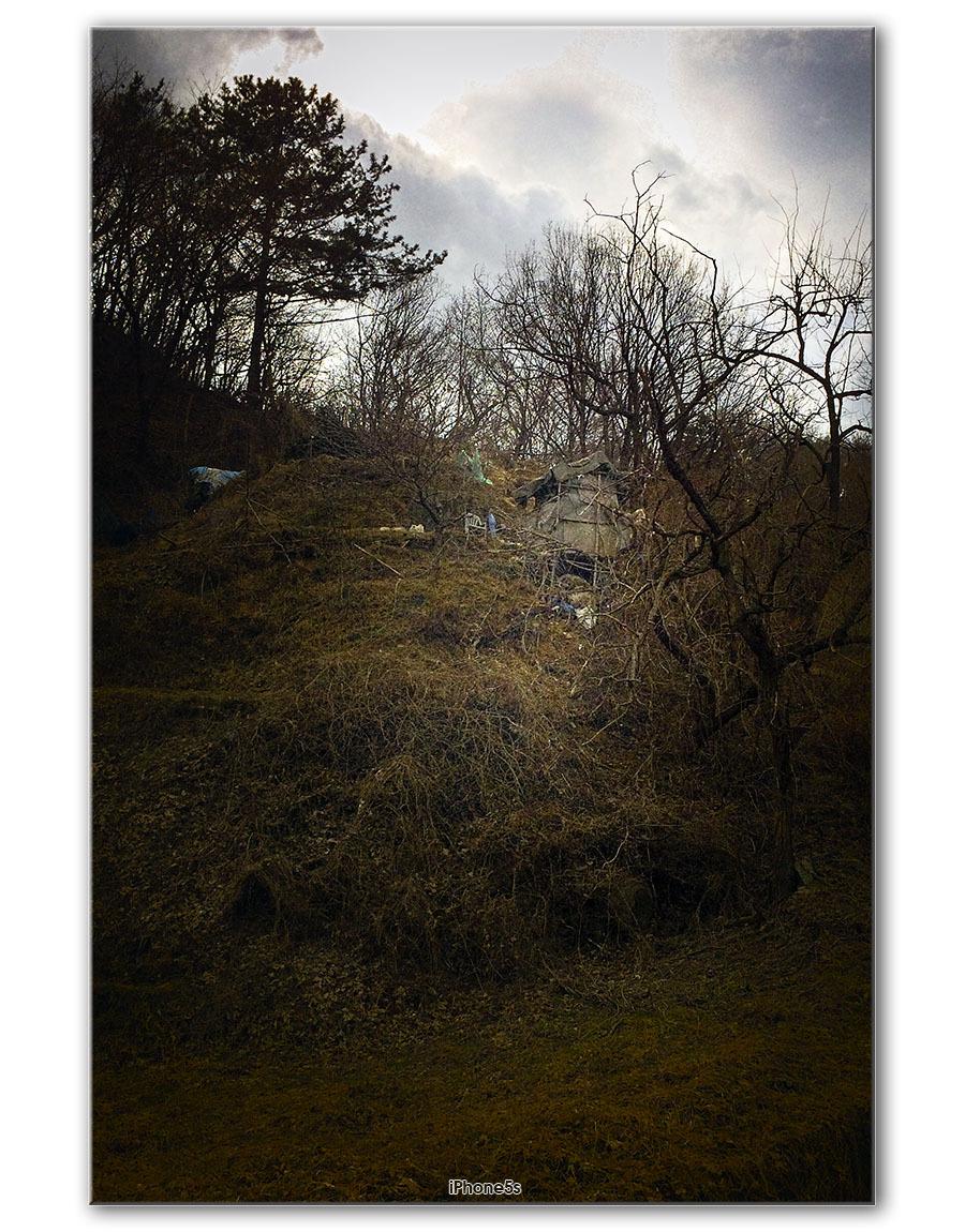 [iPhone5s] 언덕 위의 움막