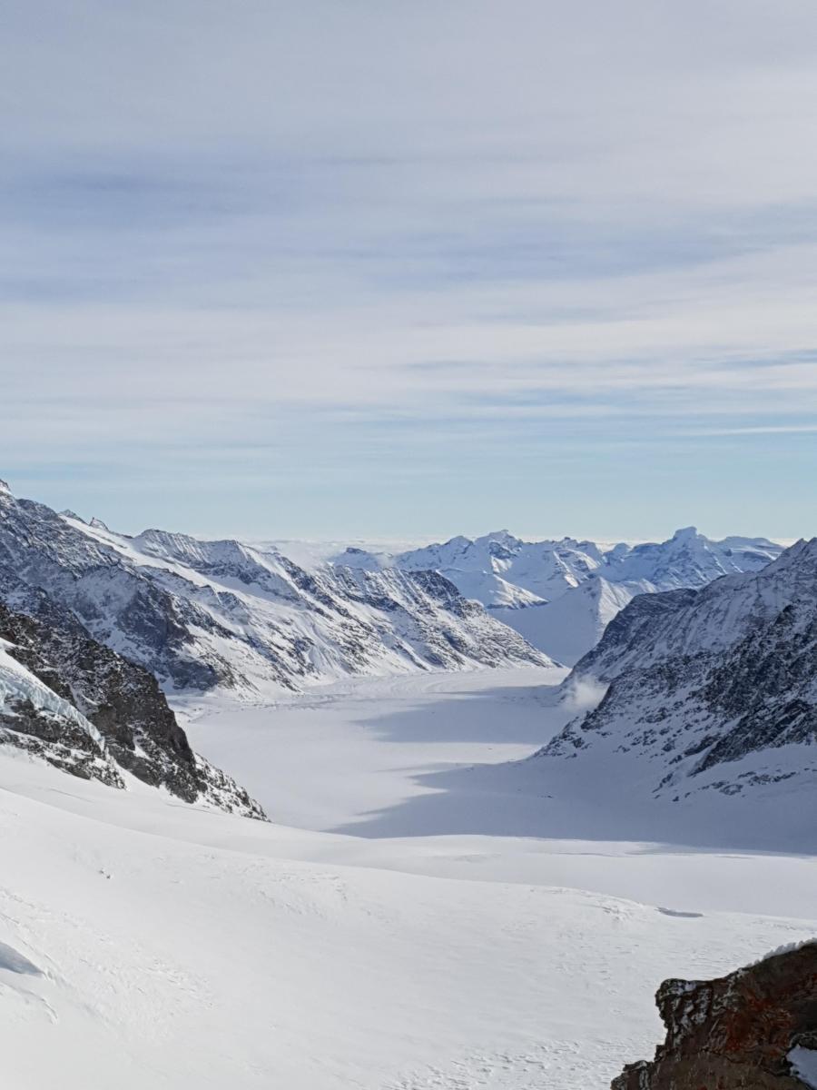스위스 융프라우입니다.