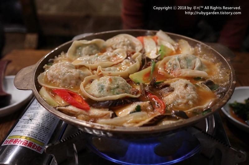 서울 북촌 맛집 / 안국역 맛집 / 수요미식회에에 나온 '깡통만두'의 만두전골