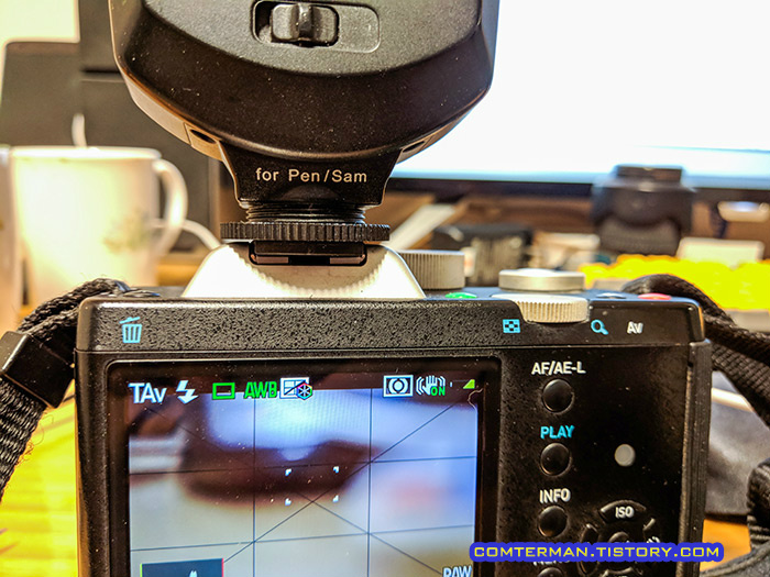 펜탁스 K-01 메츠 플래시