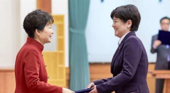 대구교육감 후보 강은희 위안부 합의와 국정교과서에도 불구하고