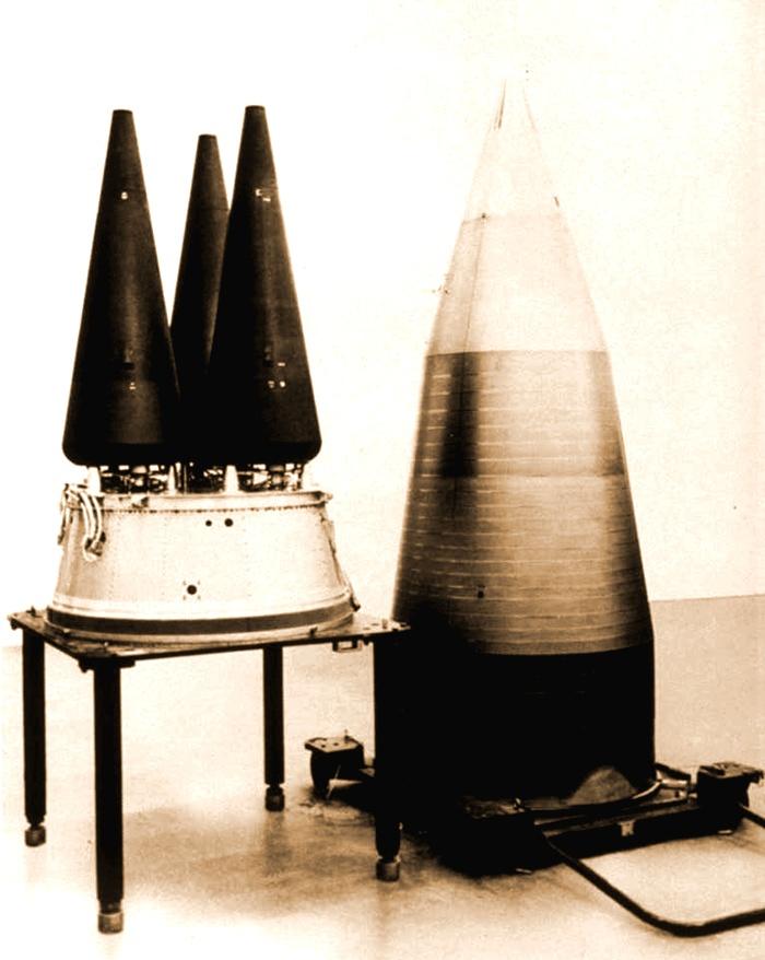 다탄두 핵 미사일 탄두 W78 3개