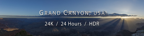 Grand Canyon, 24 Hours, 24K