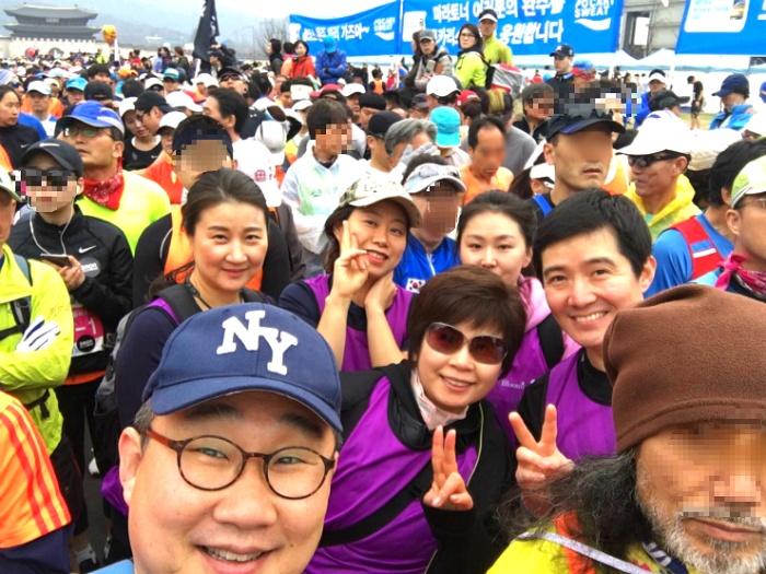 블루밍 코치님들과 함께한 동아국제마라톤 대회