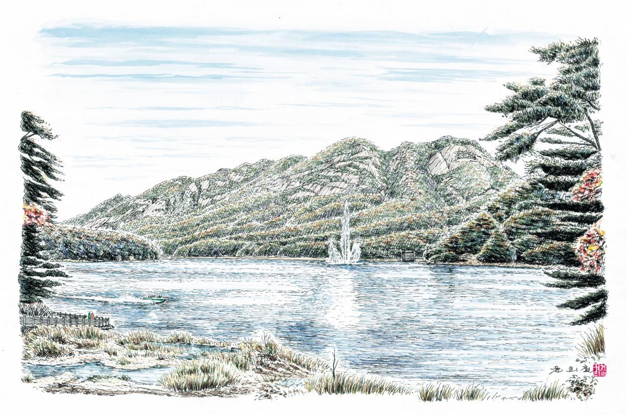포천 산정호수