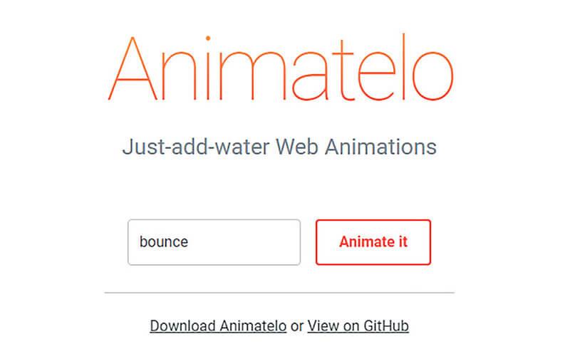 웹디자이너라면 참고할 애니메이션 도구 사이트 75모음 2탄!