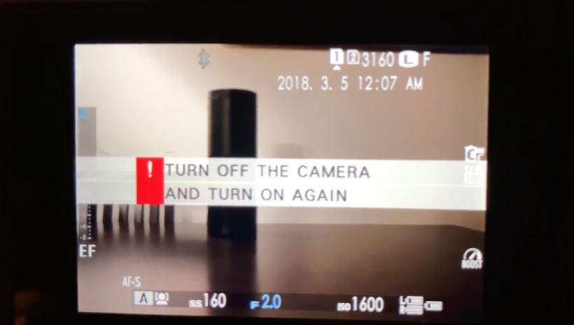 후지필름 X-H1 리뷰 #2. 먹통현상, 냉장고 현상, 프리징 경험