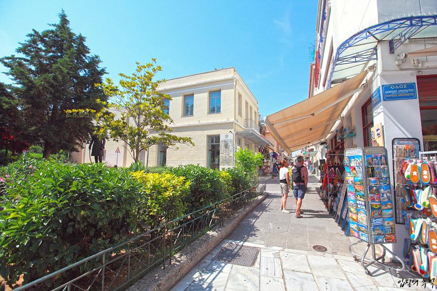 '꽃보다 할배'의 호텔, 아테네 아크로폴리스의 바이런