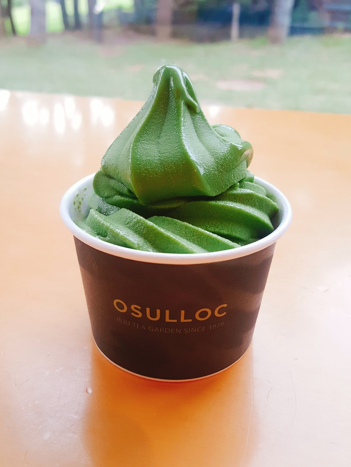 오설록 녹차 아이스크림
